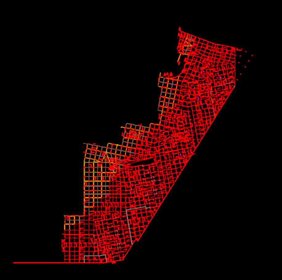 建筑结构设计CAD图之梁对比结构设计
