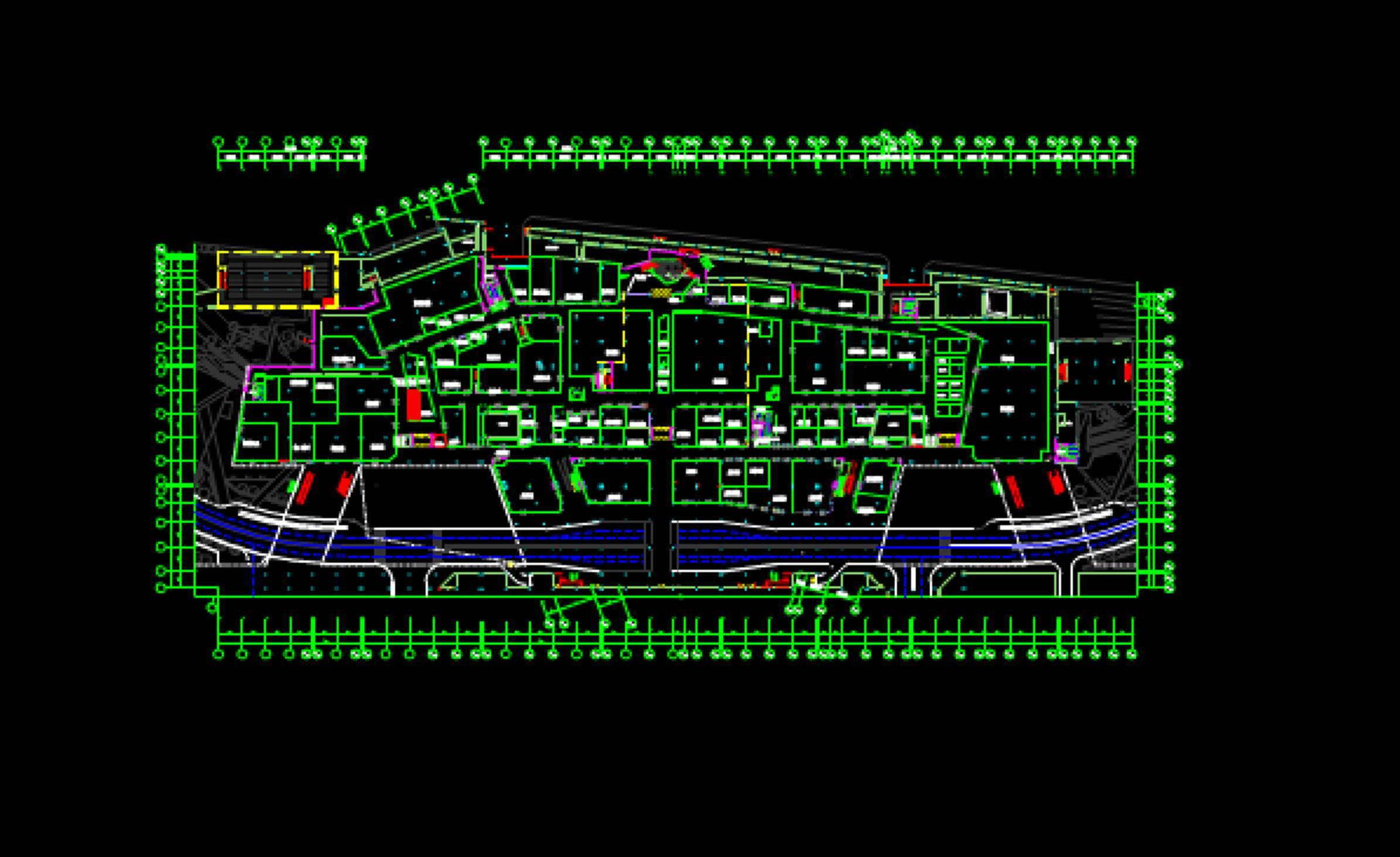 建筑设计之建筑工程CAD制图最新新落位