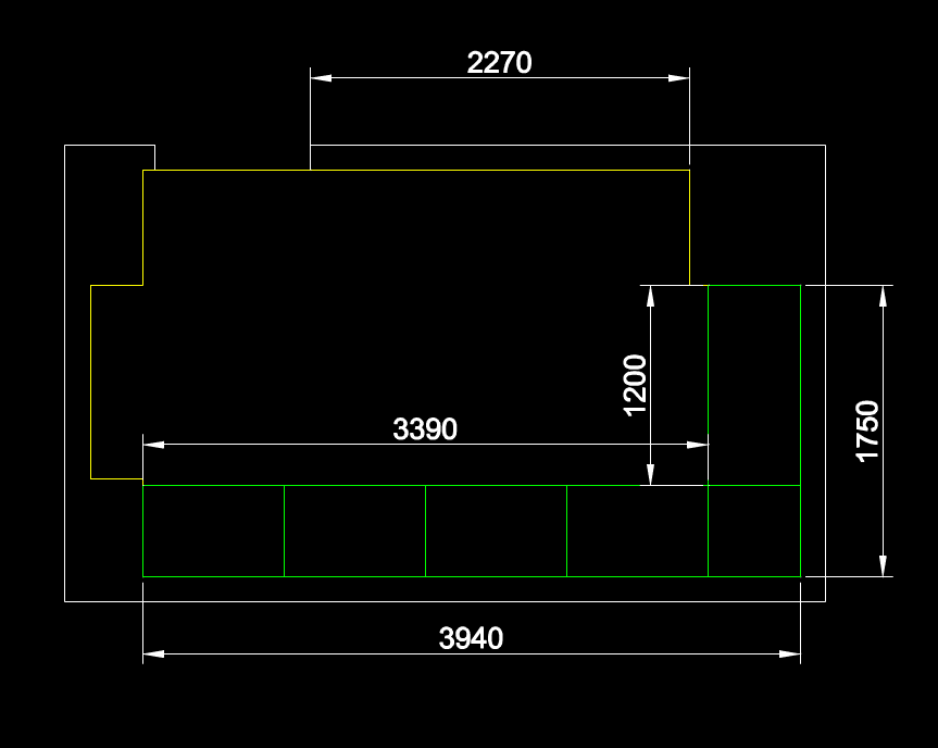 CAD机械制图图纸下载之仓库