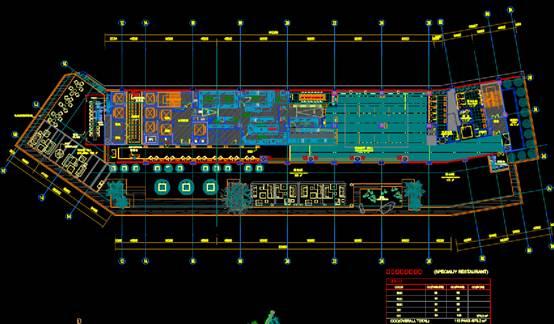 某商业建筑CAD平面室内图
