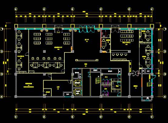 某商业楼CAD图纸