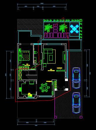 CAD建筑施工图纸之室内布置设计