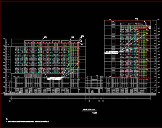 装饰设计CAD图纸之高层住宅设计