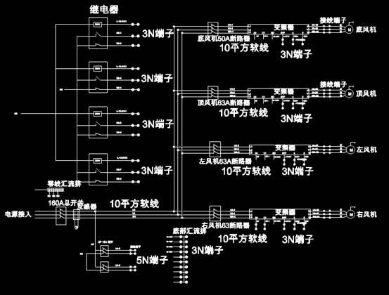 电子电工CAD图纸之线号图设计