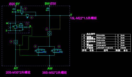 电子电工CAD图纸之起竖油缸设计