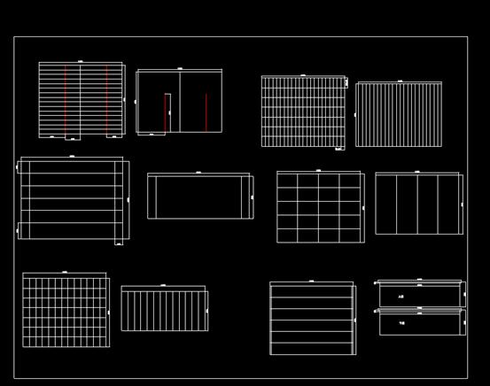 汽车的CAD设计图纸.