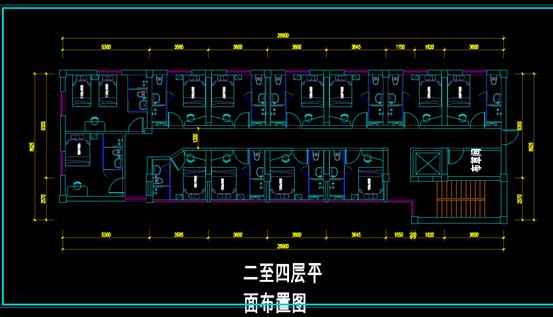 豆腐营的CAD建筑制图方案图纸
