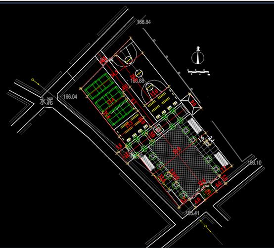 办公楼CAD规划图-CAD新块图纸