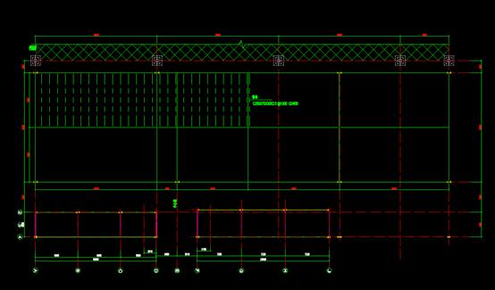 刚架CAD平面布置图