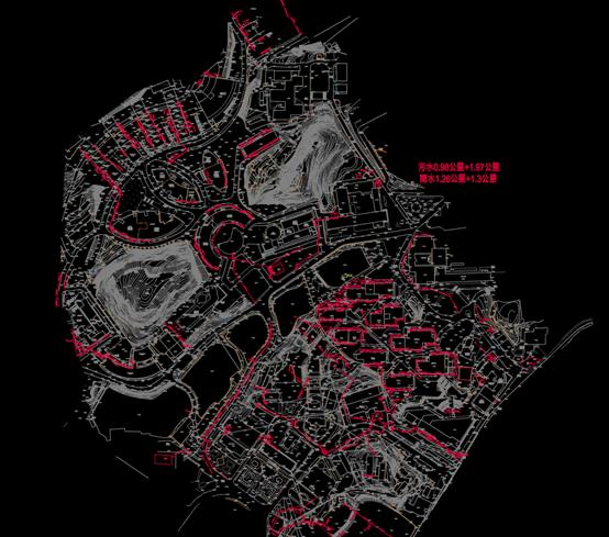 CAD给排水系统图-CAD管线图