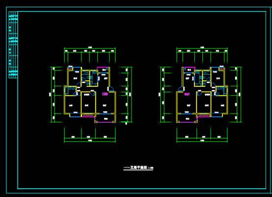 CAD建筑设计楼栋图纸