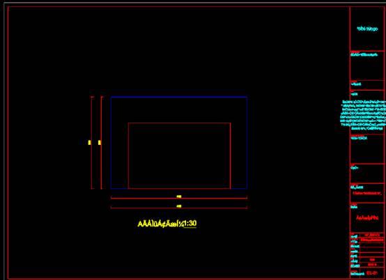 立面系统设计CAD平面室内图