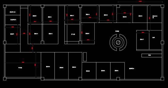 关于医疗建筑布局的CAD图纸