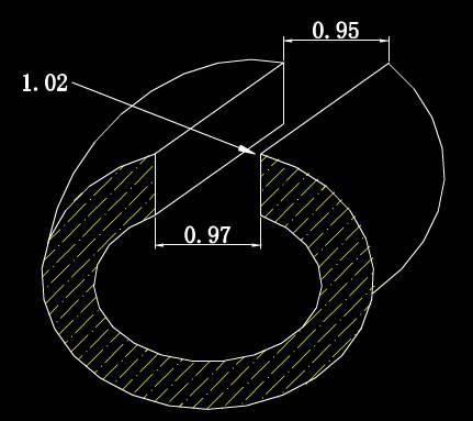 CAD机械零部件图纸之曲边构件设计