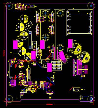 电子电工CAD图纸之电子设备设计
