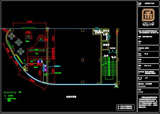 CAD景观素材之平面布置