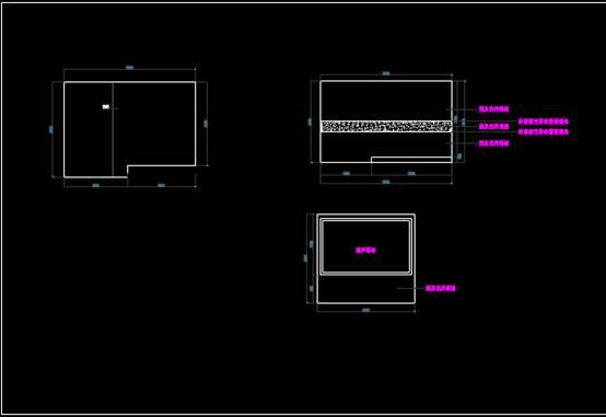 CAD建筑施工图纸之展厅墙面设计