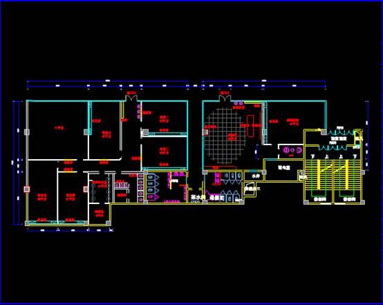 CAD设计施工图之教室设计