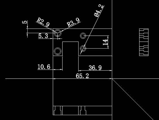 CAD机械零部件图纸之构件设计