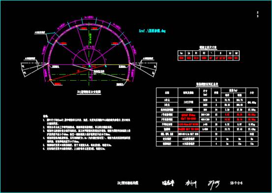 CAD图纸大全之钢架组合安装图
