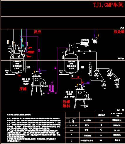 CAD机械零件制图之车间管道设计
