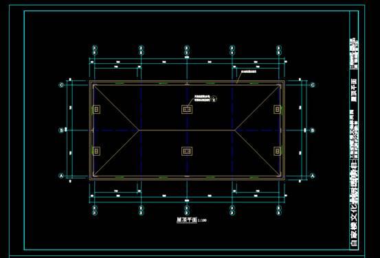 商业楼CAD图纸之建筑