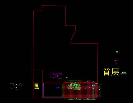 商业楼CAD图纸之平面图