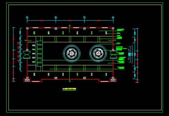 CAD室内设计方案之多功能厅装修