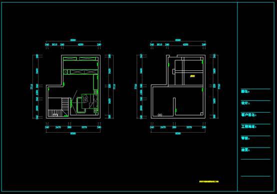 CAD建筑布局图之力高滨湖国际