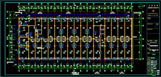 某多层商业建筑CAD平面图