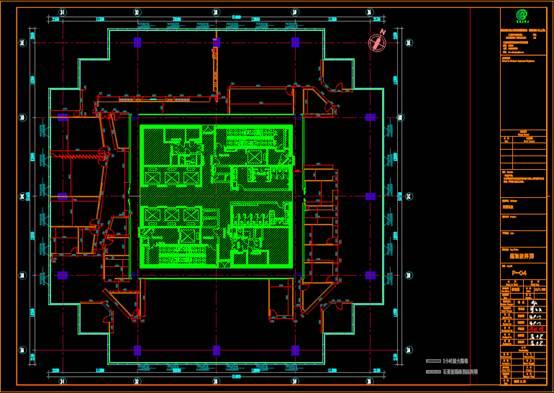 颐堤港的CAD办公建筑设计图