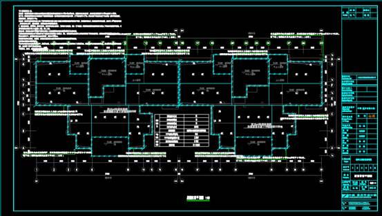 某房屋的CAD住宅建筑电气图纸