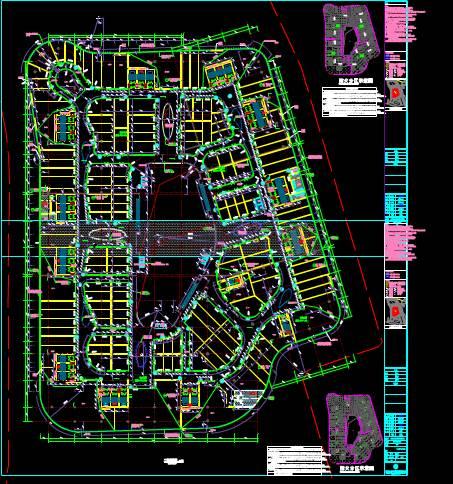 某地区商业建筑CAD平面图