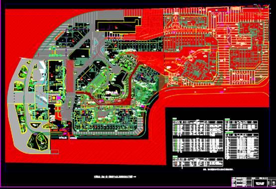 紫金一品示范区绿化CAD规划图