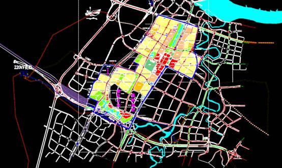 茶园储备土地规控土地规划CAD图纸