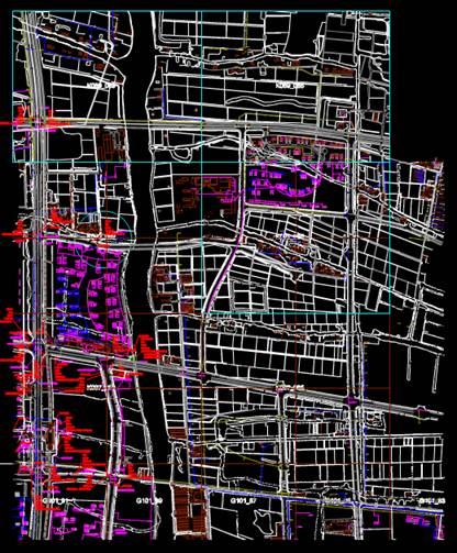 CAD地形图绘制