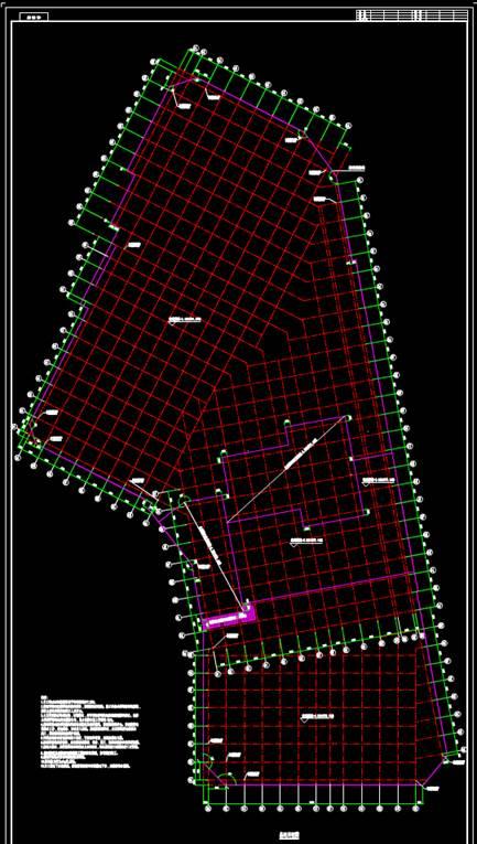 基坑开挖CAD结构设计图