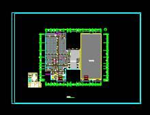 CAD办公建筑设计图之互联网产业园平面图