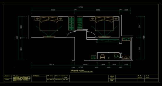 CAD室内设计方案之平面图