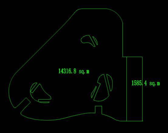 CAD建筑设计图之商业区设计图