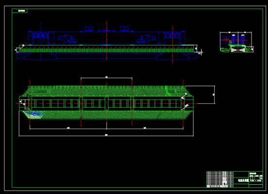 CAD机械设备图之电机