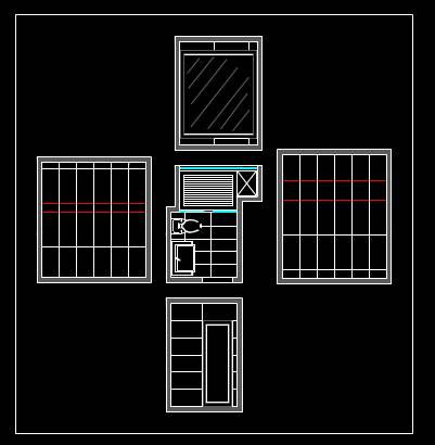 住宅装修CAD设计图纸之平面图
