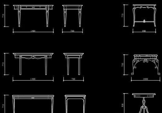 CAD图库——各种家具图库