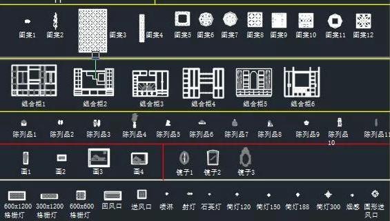 CAD图库——建筑园林设计相关图库