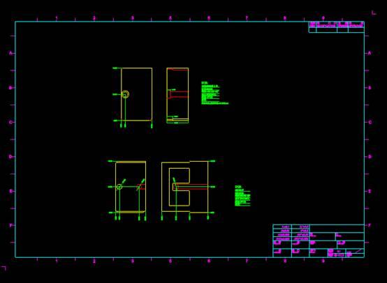机械工程CAD制图之生活物