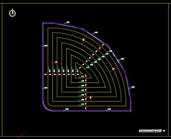 CAD建筑设计图之外-4垒球场地