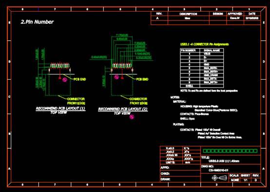 CAD机械制图图纸下载之公沉板