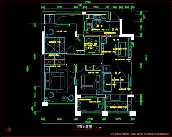 十二橡树建筑装修CAD建筑设计
