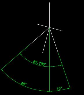 CAD机械制图之偏角模拟