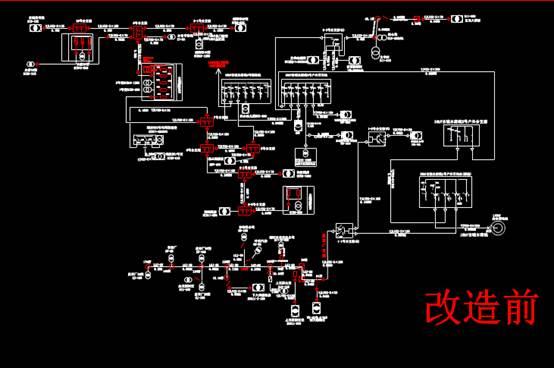 市政10KV线路系统CAD电气布线图